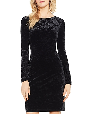 Vince Camuto Crushed Velvet Dress