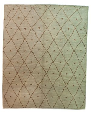 Solo Rugs Moroccan Area Rug, 9'8 x 7'10