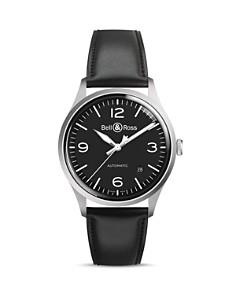 Bell & Ross - BR V1-92 Black Steel Watch, 38.5mm