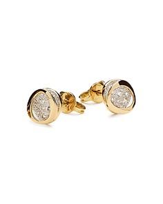 Antonini - 18K Yellow Gold Atolli Diamond Small Stud Earrings
