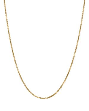 Bloomingdale's 14K Yellow Gold 2.2mm Solid Polished Cable Chain Necklace, 16 - 100% Exclusive