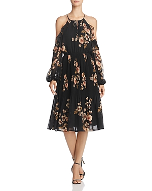 Astr Persephone Cold-Shoulder Dress