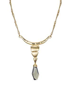 Robert Lee Morris Soho Frontal Drop Necklace, 14