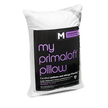 Bloomingdale's - My Primaloft Asthma & Allergy Friendly Medium Down Alternative Boudoir Pillow - 100% Exclusive