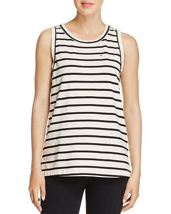 Current/Elliott - The Muscle Striped Tank