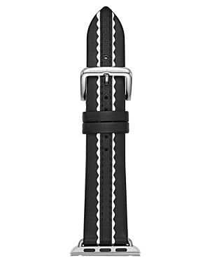 kate spade new york Apple Leather Watch Strap, 25mm