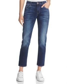 PAIGE - Brigitte Straight Jeans in Enchant