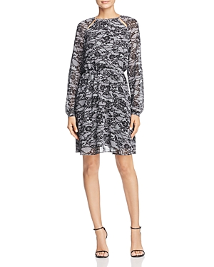 Michael Michael Kors Lace Print Dress