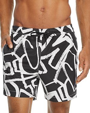 Onia Charles Graffiti Swim Trunks