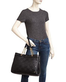 Tory Burch - Fleming Quilted Leather Tote