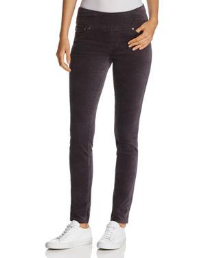 Jag Jeans Nora Skinny Velvet Leggings in Black