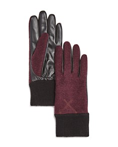 UGG Wool & Leather Tech Gloves - Bloomingdale's_0