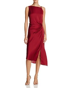 Nic+Zoe Dress Side-Ruched Dress