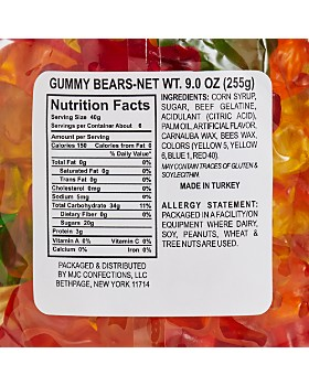 Bloomingdale's - Gummy Bears - 100% Exclusive