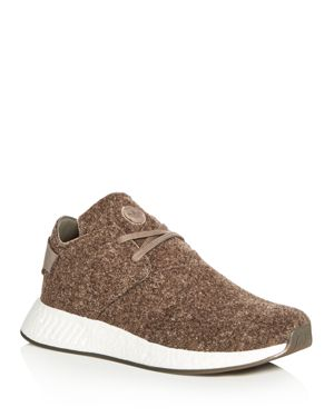 Adidas Wings and Horns Men's Nmd C2 Chukka Felt Lace Up Sneakers