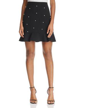 Aqua Embellished Flounce Skirt - 100% Exclusive