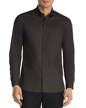The Kooples - Micro Graphics Slim Fit Button-Down Shirt