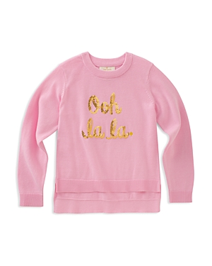 kate spade new york Girls' Ooh La La Sweater - Big Kid