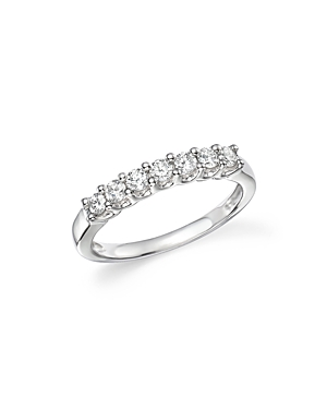 Bloomingdale's Diamond Seven Stone Band in 18K White Gold, .40 ct. t.w. - 100% Exclusive