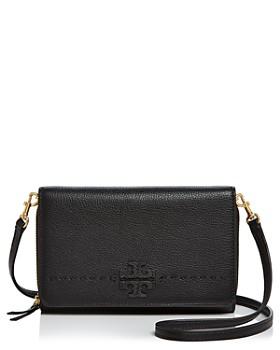 Tory Burch - McGraw Flat Leather Wallet Crossbody