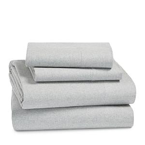 Coyuchi Cloud Brushed Organic Cotton Flannel Sheet Set, Queen