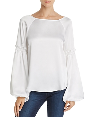 Bailey 44 Blood Bond Balloon-Sleeve Top