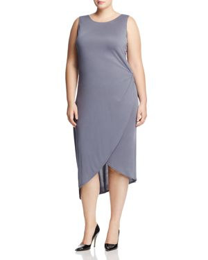 Love Ady Plus Asymmetric Tulip Hem Dress - 100% Exclusive