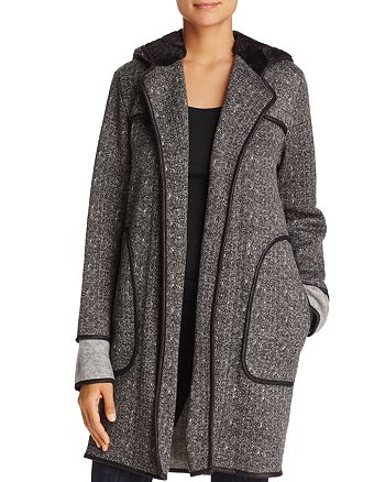 Capote - Rene Long Hooded Coat