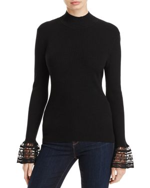 Marled Bell Sleeve Sweater - 100% Exclusive