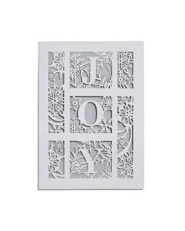 Masterpiece - Masterpiece Joy Laser-Cut Holiday Cards, Set of 12