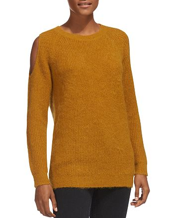 Whistles - Cold-Shoulder Cutout Sweater