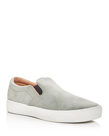 SATURDAYS NYC - Men's Vass Nubuck Leather Slip-On Sneakers - 100% Exclusive