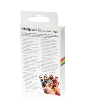 "Polaroid - 2x3"" Premium ZINK® Paper Twin-Pack, Pack of 20"
