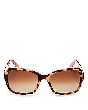 kate spade new york Annjanette Polarized Square Sunglasses, 54mm