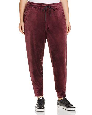 Marc New York Plus - Velvet Jogger Pants