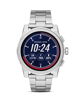 Michael Kors - Grayson Stainless Steel Touchscreen Smartwatch, 47mm