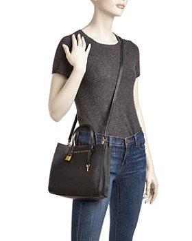MARC JACOBS - The Mini Grind Leather Crossbody