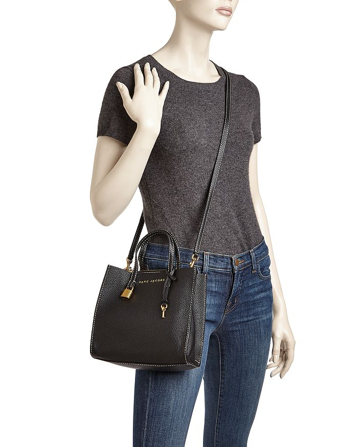 a4a954a8ff0f4 MARC JACOBS - The Mini Grind Leather Crossbody
