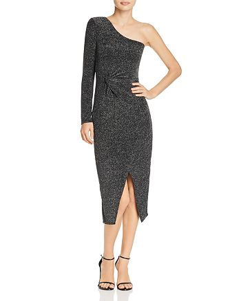 Bardot - Avril Metallic One-Shoulder Dress - 100% Exclusive