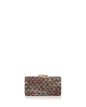 Sondra Roberts Boucle Tweed Clutch