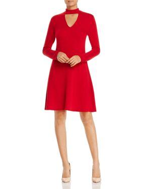 Robert Michaels Mock Neck Sweater Dress - 100% Exclusive