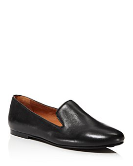 Gentle Souls by Kenneth Cole - Women's Eugene Leather Smoking Slipper Flats