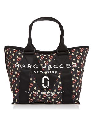 Marc Jacobs New Logo Popcorn Scream Print Small Tote 2754576