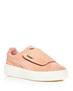 Puma Women's Suede Platform Sneakers