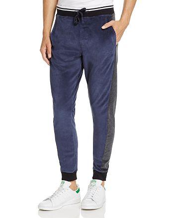 Calvin Klein - Jeans Velour Color-Block Jogger Pants