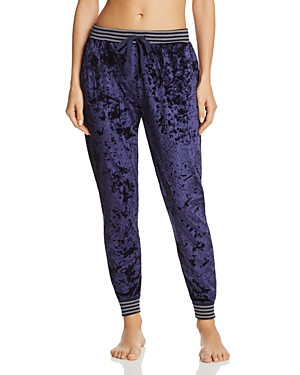 Splendid Intimates Crushed Velvet Jogger Pants