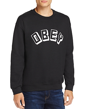 Obey Logo Crewneck Sweatshirt - 100% Exclusive