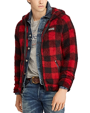 Polo Ralph Lauren Buffalo Plaid Hooded Fleece Jacket