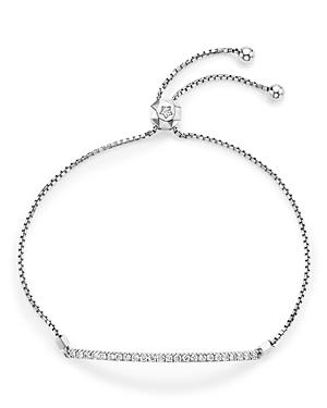 Bloomingdale's Diamond Bar Bolo Bracelet in 14K White Gold, .55 ct. t.w. - 100% Exclusive