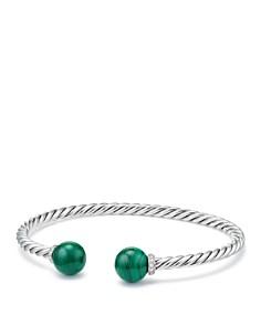 David Yurman - Solari Bracelet with Diamonds & Malachite